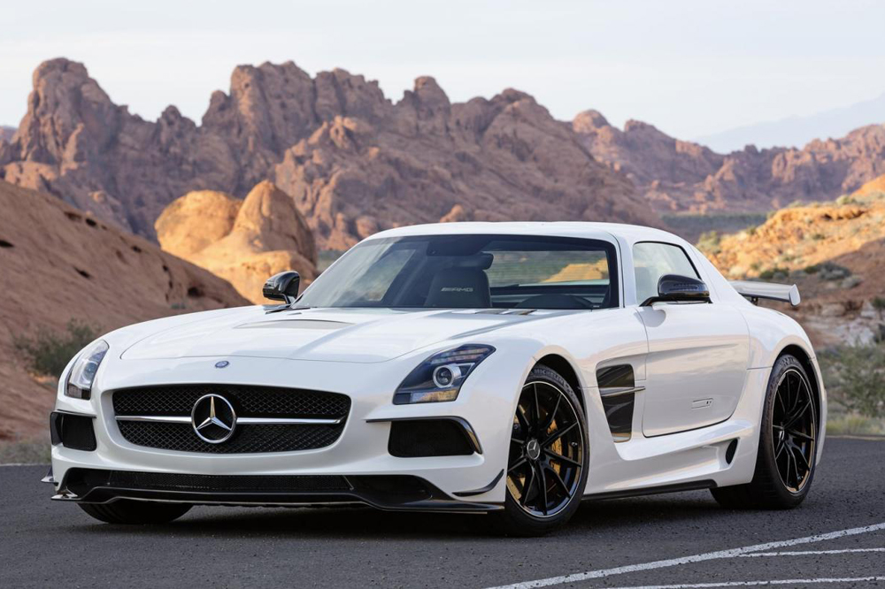 Mercedes SLS – The Fast And The Furious